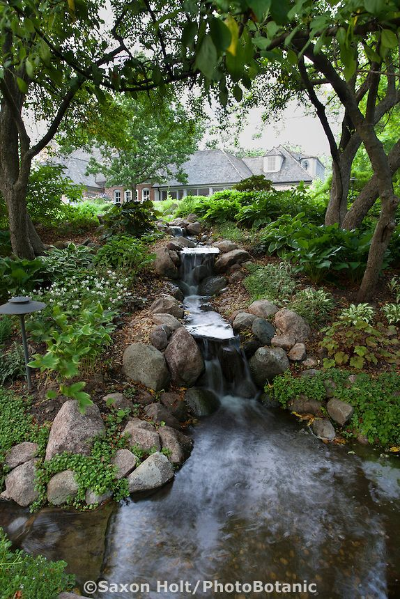 how to make a stream in your garden