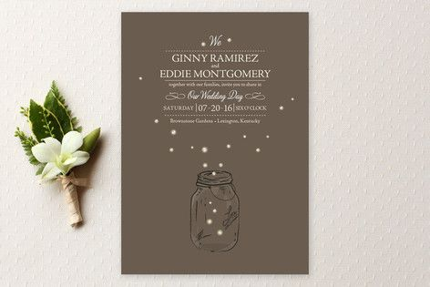 I do this a couple times a year: I go peeking at the sales reports of what Offbeat Brides are buying from Minted so that I can see which wedding invitation designs you guys are loving. Why? Because...