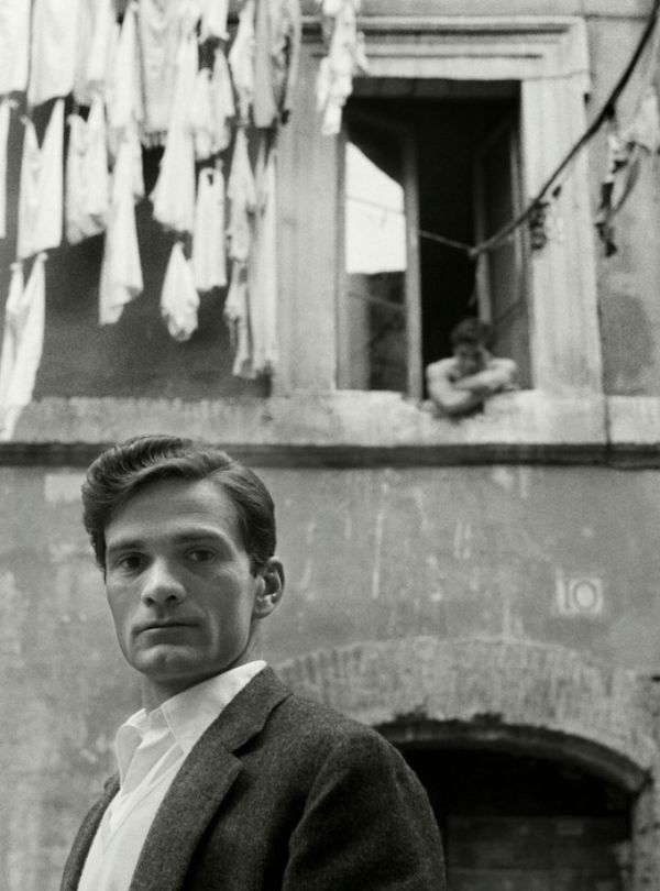 Herbert List, Director Pier Paolo Pasolini, Trastevere, Rome 1953.