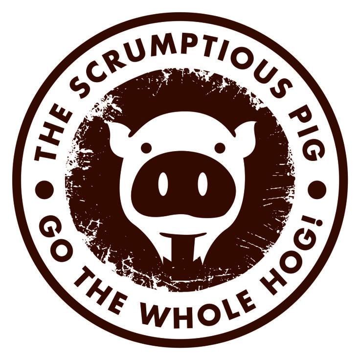 The Scrumptious Pig Logo Design
