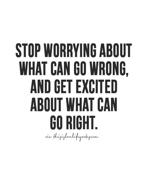 how to get someone to stop worrying about you