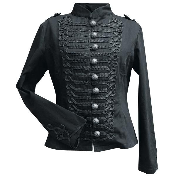 SP Jacket - Girls jacket by Alcatraz - Article Number: 185921 - from 43.99 € - EMP Merchandising ::: The Heavy Metal Mailorder ::: Merchandise Shirts and More