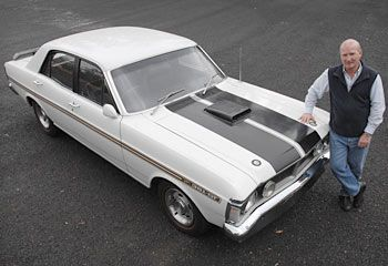 OFF the showroom floor in 1971 it cost $5400. Thirty-six years later this rumbling Ford Falcon GTHO is set to fetch $1 million.