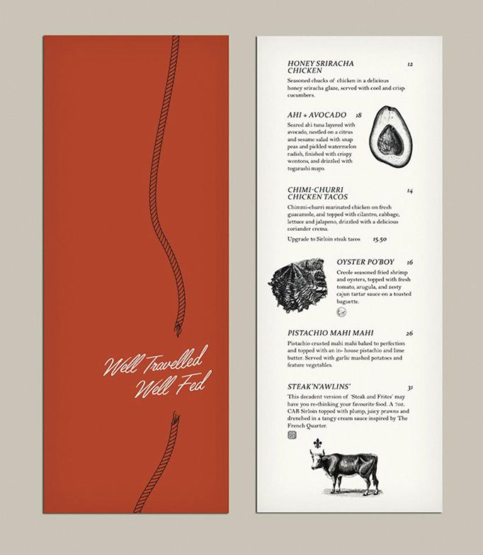 42 best Menu design images on Pinterest Menu design templates - restaurant menu design templates
