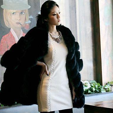 Aier Women's Winter New Fashion Coat Outwear(Black)109 – AUD $ 60.71