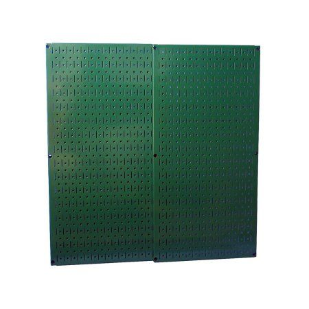 Green Metal Pegboard Pack - Two Pegboard Tool Boards, Beige