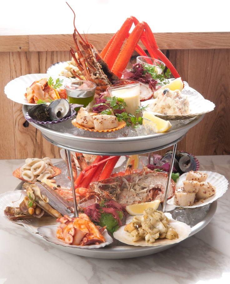 Seafood platter (deluxe)