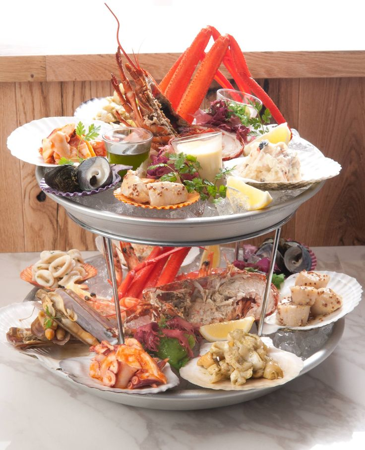 Seafood platter (deluxe)