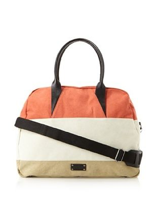 63% OFF K by Krane Men's Cheyne Duffle (Red/Eggshell/British Khaki)