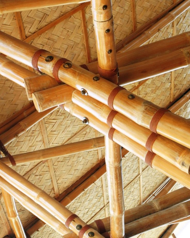 bamboo bolted connections