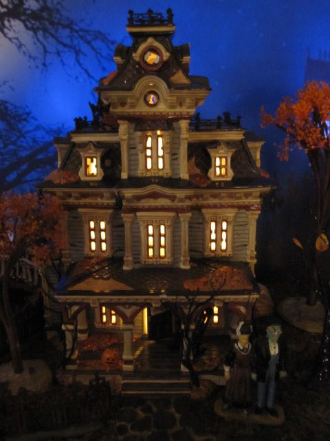 department 56 grimsly manor google search halloween villagehalloween decorationshappy