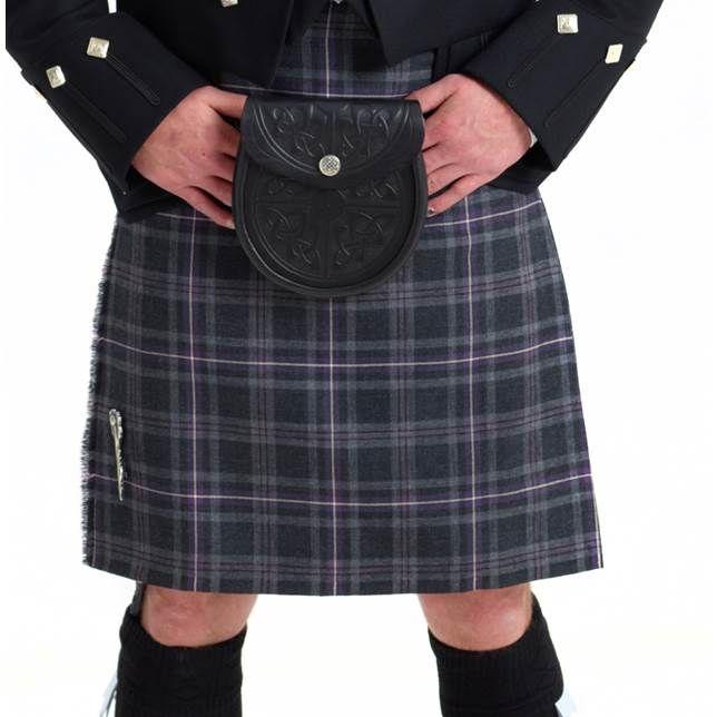 Kilt Hebridean Thistle Tartan, ready made kilt