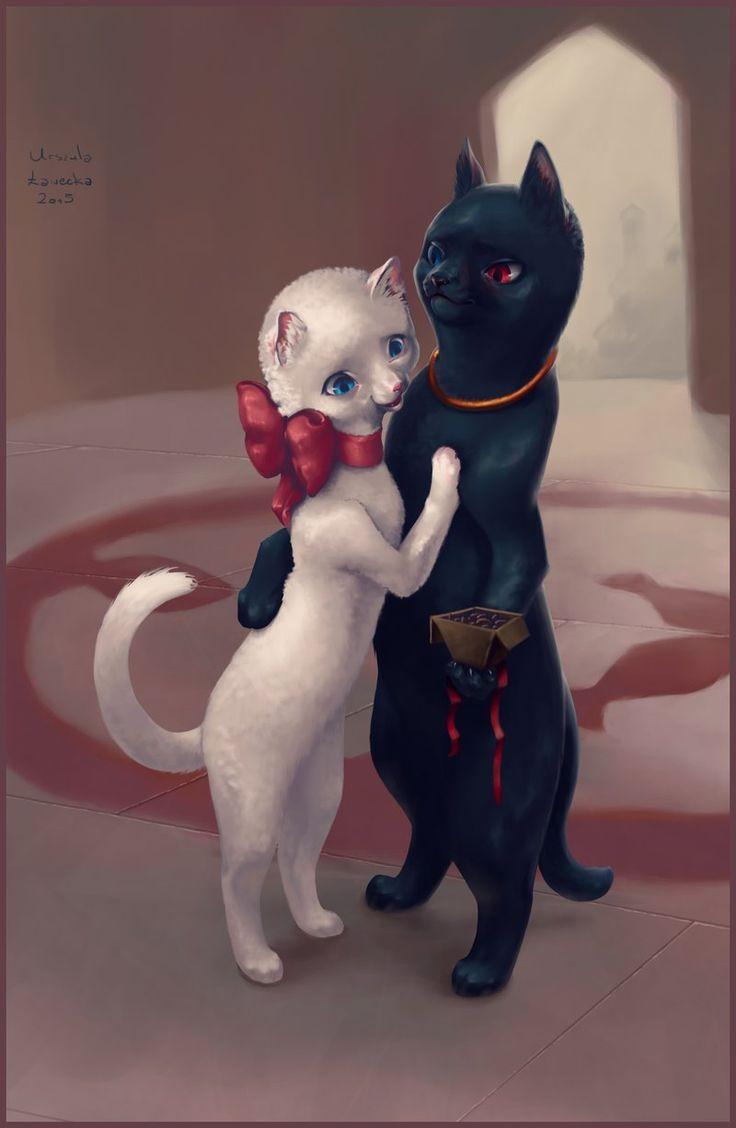 Cat Returns by Nivailis