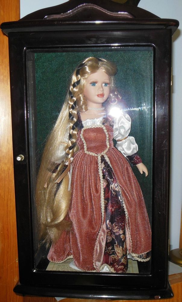 Vintage 1968 Ashley Belle Doll with Wood/Glass Case Cert ...