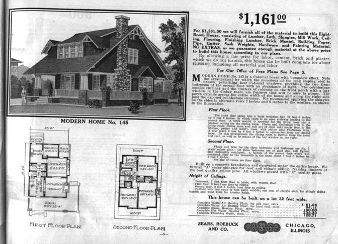 235 Best Sears Kit Homes Images On Pinterest | Vintage Homes, Vintage House  Plans And Facades