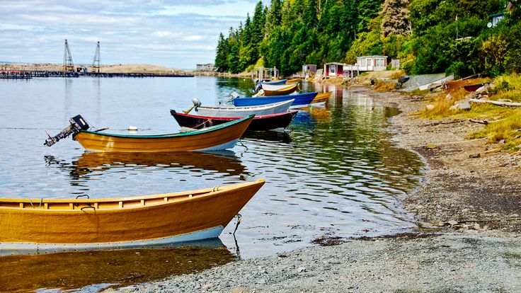 Dark Harbour on Grand Manan Island is a great place to slow down