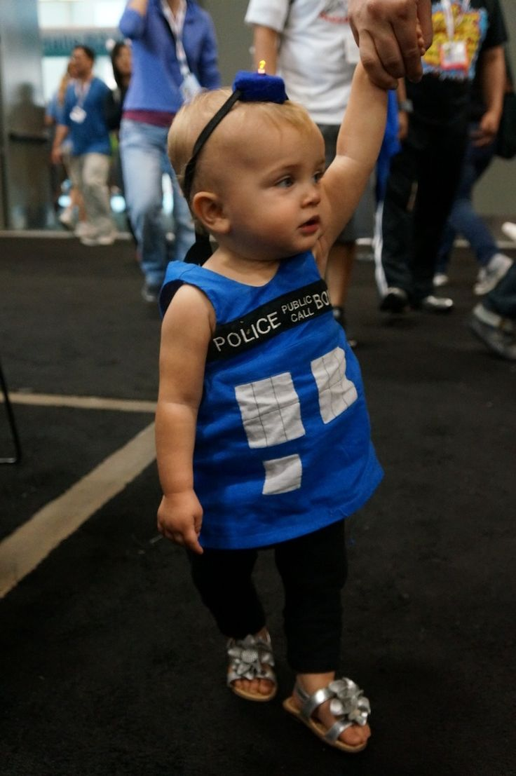 When I grow up, I want to be a TARDIS! #SDCC #DrWho #toddler #cosplay