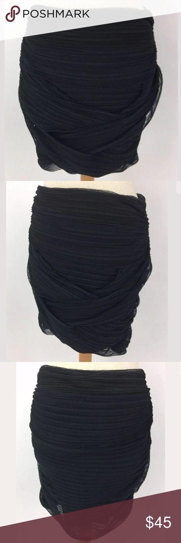 BCBG Max Azria mini skirt Waist: 32 Length: 19 100% polyester, lined in 84% polyester, 16% Spandex   Item: 2060 BCBGMaxAzria Skirts Mini