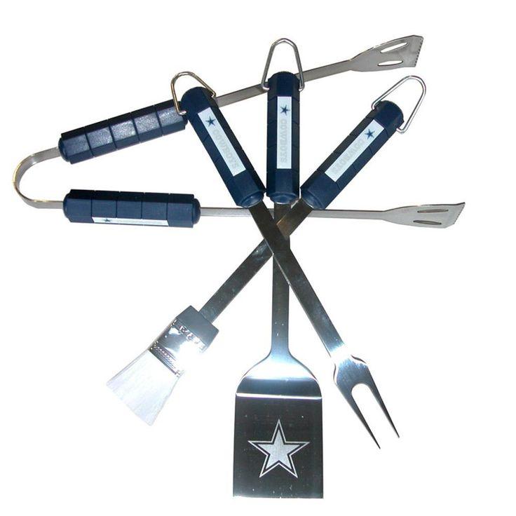 Dallas Cowboys 4pc BBQ Grill Tool Set