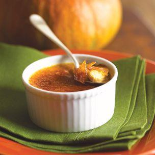Pumpkin Creme Brulee  tried it, good recipe