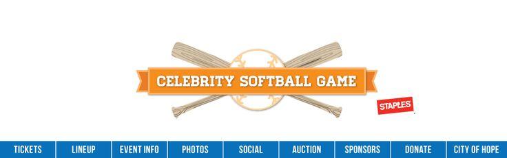 2014 Celebrity Softball Game: Lineup - Saturday, June 7, 2014
