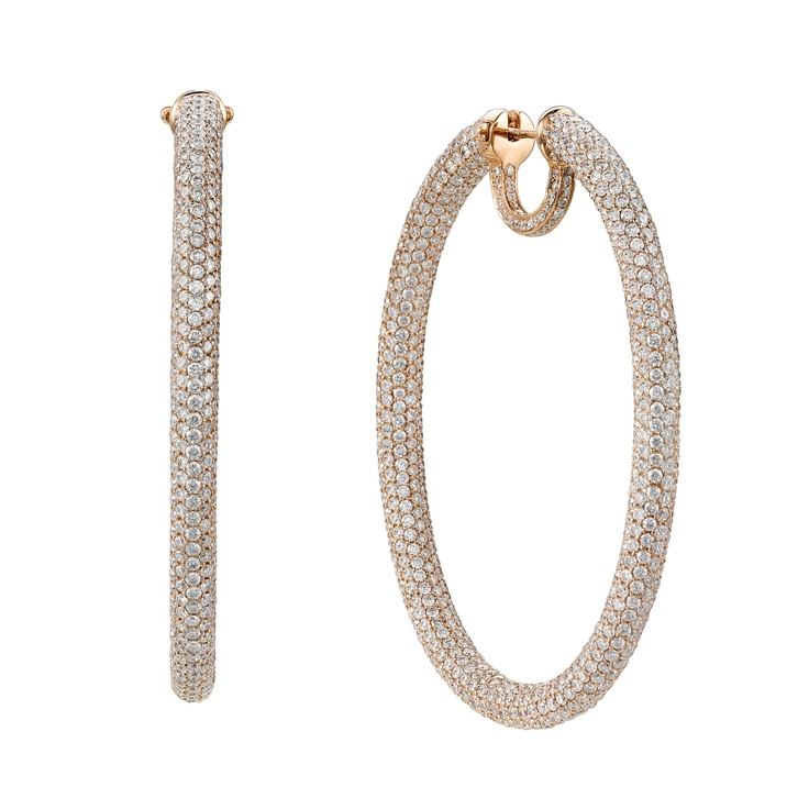 OVAL HOOP EARRINGS - Daniel K