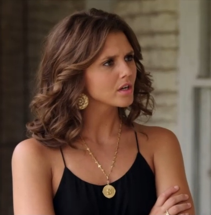 """Sutton's La Vie Parisienne 'S' Necklace and Earrings The Lying Game Season 2, Episode 8: """"Bride and Go Seek"""""""