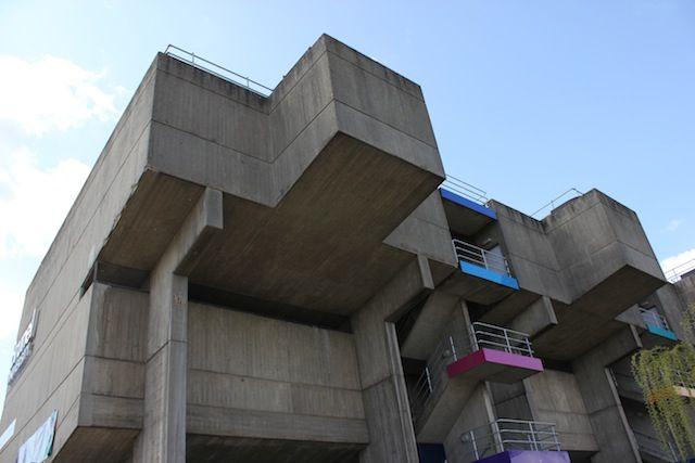 Brunel 5Brutalist Landmarks, Tops Brutalist, Brutalist Architecture, London Brutalist, London Tops, Architecture London, Brutalist Buildings, Lecture Centre, Brunel Universe