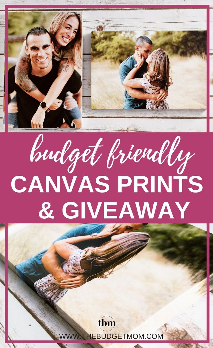 "A budget-friendly way to display your favorite photos. I loved Canvas Champ's handmade frames, and high quality canvas prints. It was a cheap way to decorate my favorite room, and the customer service was fantastic. This is a detailed review of Canvas Champ and GIVEAWAY! Enter to win a FREE 12"" x 12"" canvas print! #canvasphoto #decor #framedfree #christmas #giftidea via @thebudgetmom"