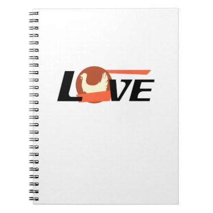 Thanksgiving Love Turkey Gif Notebook - love gifts cyo personalize diy