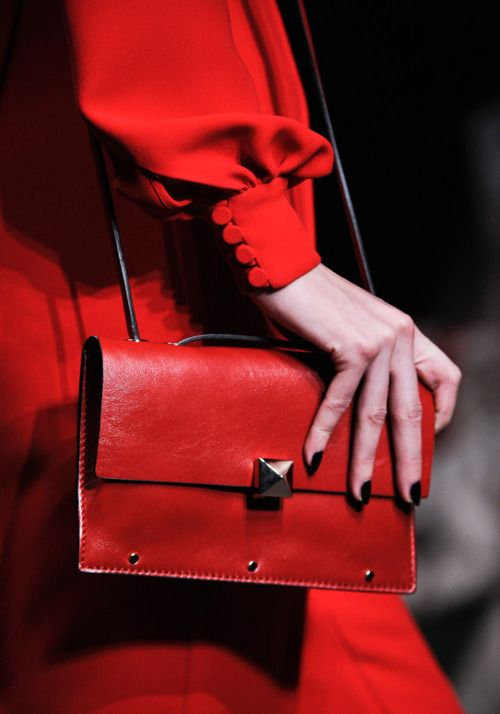 Valentino red purse