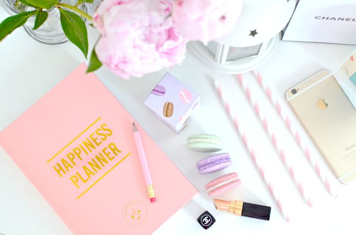 The Happiness planner and other cute stationery buys.