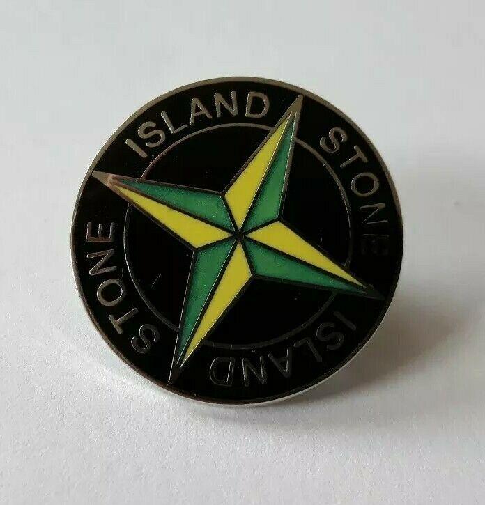 VIntage Casuals Stone island Pin Badge.Enamel