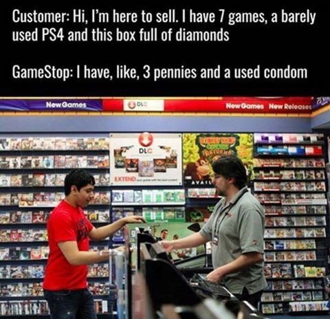 Hahaha the value of games in reality