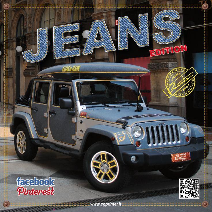 AntPrinterTarantini jeep in Jeans