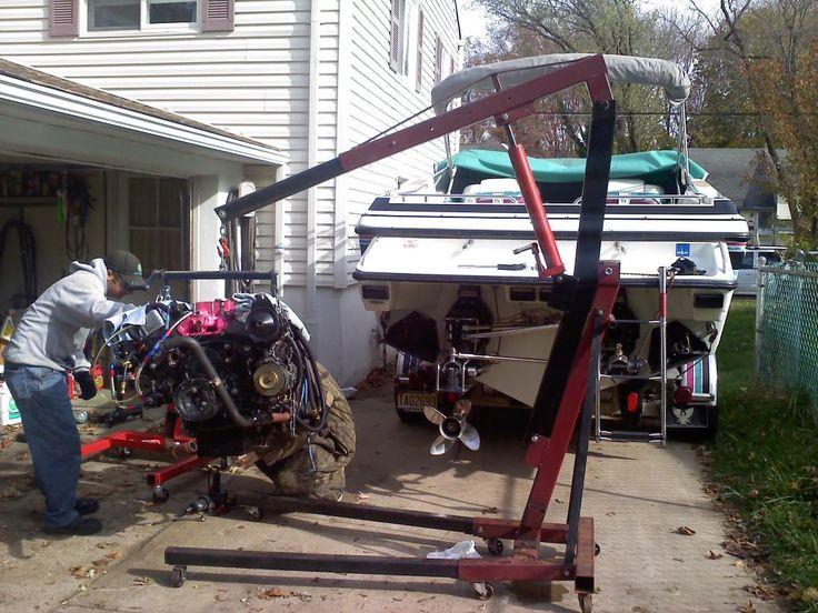 Engine hoist loner or rental hoist engineering used
