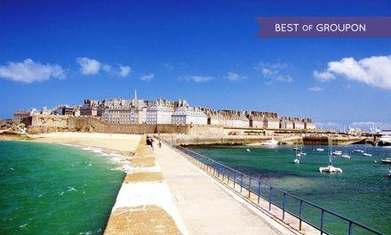 Hôtel de l'univers à Saint Malo : Escapade relaxante à Saint Malo: #SAINTMALO 69.00€ au lieu de 112.60€ (39% de réduction)