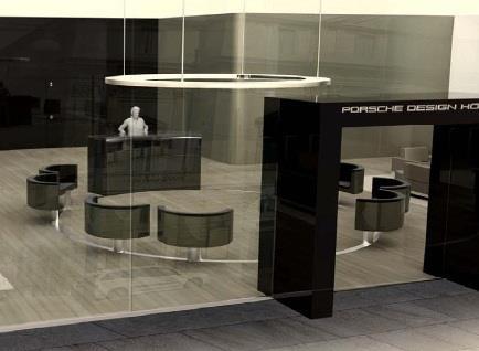 Porsche Design Hotel - study by Porsche Design Studio