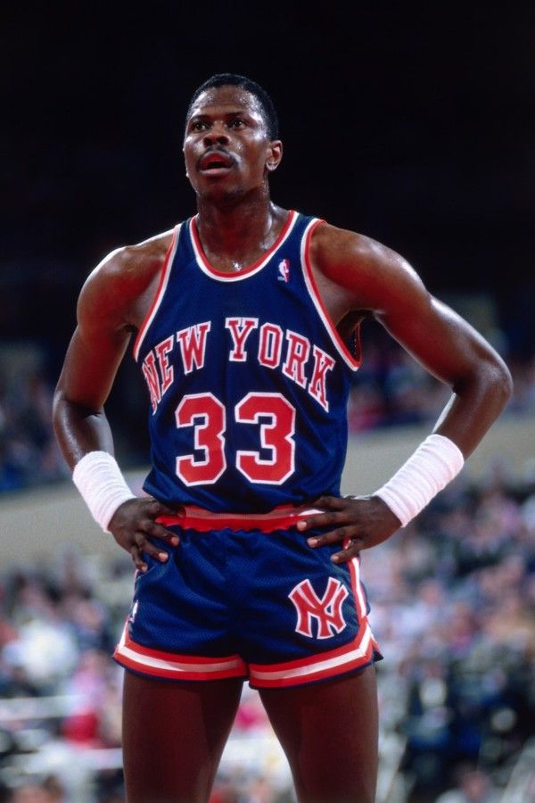Patrick Ewing, New York Knicks.