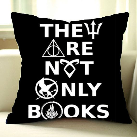 They-Are-Not-Only-book- Pillow Cover