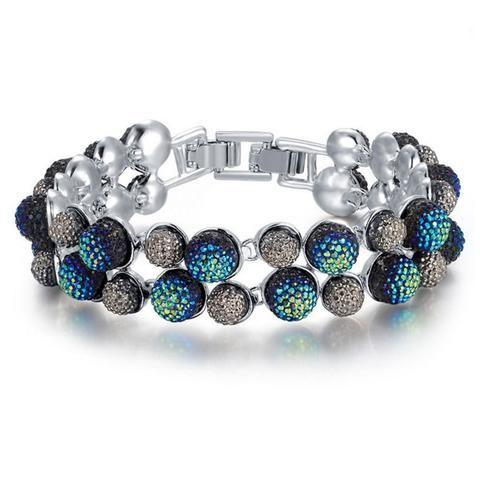 Kyleigh Crystal Ball Bracelet