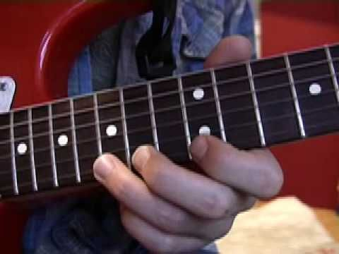 Remarkable, the electric guitar lick