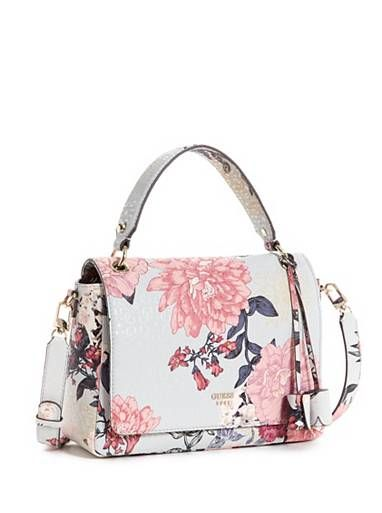 Seraphina Floral Flap Satchel at Guess  066fd945fc375