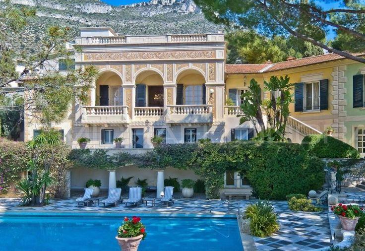 french riviera | Belle Epoque-Style French Riviera Villa ...