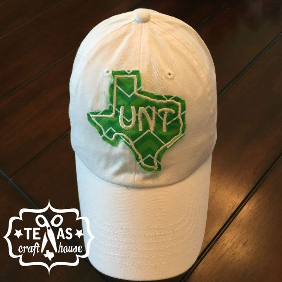 University of North Texas Inspired Monogram by TexasCraftHouse