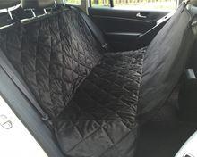 Venta caliente A Prueba de agua cubierta de asiento de coche de asiento de Coche del perro de Interior Accesorios de viaje Coche Estera Cubierta de Asiento de Asiento de Respaldo Mascotas perros(China)