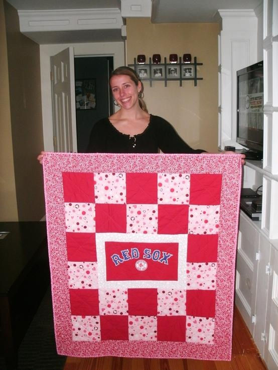 17 Best Images About Red Sox Quilts On Pinterest Quilt