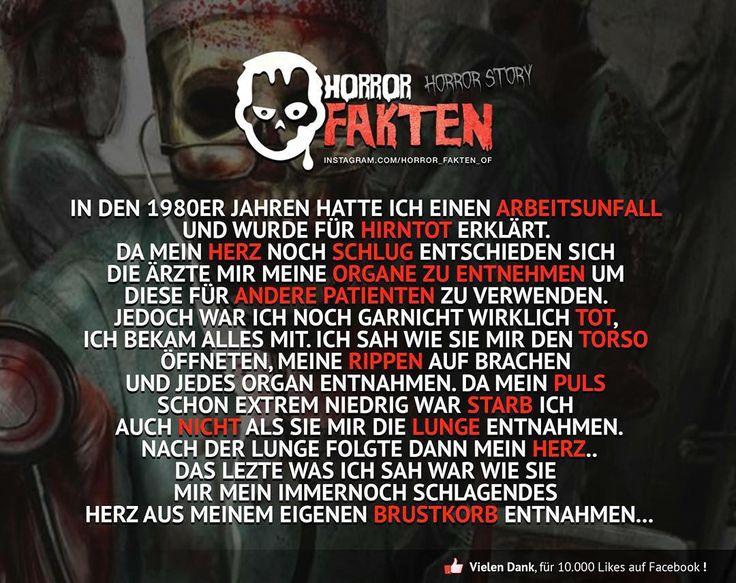 Ich Lebe - Horror Story  #horror #fakten #horrofakten