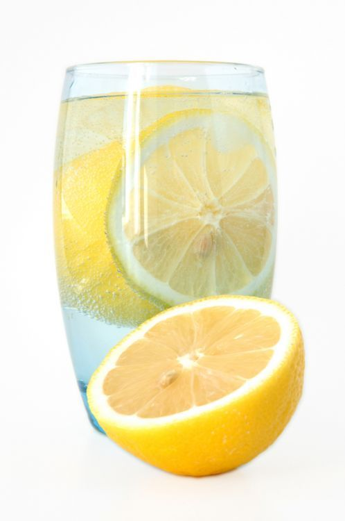 Why Drinking Water With Lemon Can Help Weight Loss - squeeze half a medium lemon in a 250ml glass of warm water.
