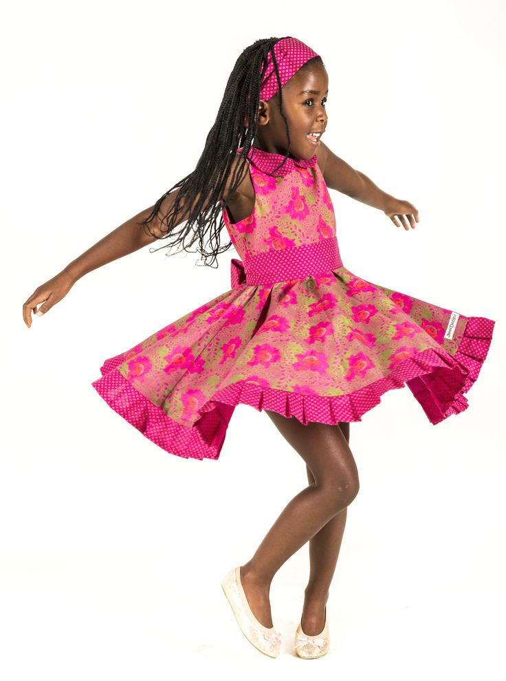 Girls African Print Dresses & Accessories . Handmade in South Africa. www.jennidezigns.clothing #GirlsPrintDresses #GirlsPartyDress #ShweShwe #GirlsPrintAccessories #GirlsAfricanPrint #KidsFashion